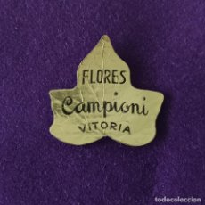 Etiquetas antiguas: ETIQUETA DE FLORES CAMPIONI. ORIGINAL DE EPOCA. VITORIA (ALAVA). 1920-40.. Lote 207102441