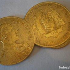 Etiquetas antiguas: ETIQUETA PUBLICITARIA, AÑOS 30,40 .ALFONSO XIII ESPAÑA CIUDAD DE BARCELONA EXPOSICION INTERNACIONAL. Lote 210209976