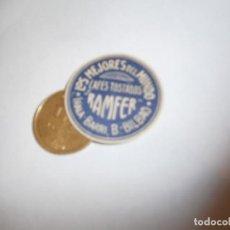 Etiquetas antiguas: ETIQUETA PUBLICITARIA, AÑOS 30,40. CAFES TOSTADOS RAMFER LOS MEJORES DEL MUNDO (BILBAO). Lote 210210208