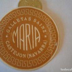 Etiquetas antiguas: ETIQUETA PUBLICITARIA, AÑOS 30,40. GALLETAS SAINZ CASTEJON (NAVARRA). Lote 210216080