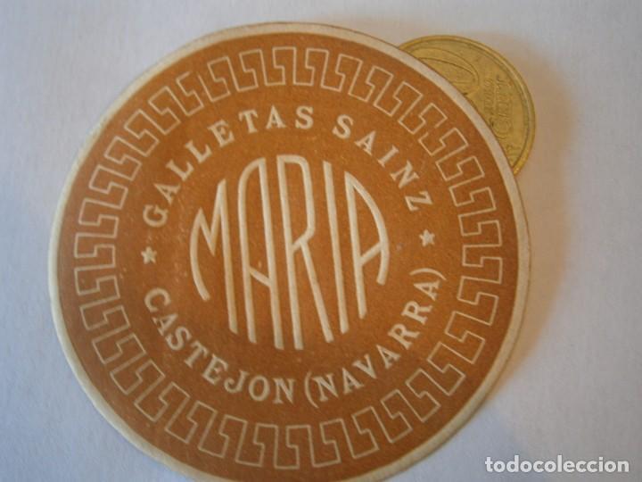 ETIQUETA PUBLICITARIA, AÑOS 30,40. GALLETAS SAINZ CASTEJON (NAVARRA) (Coleccionismo - Etiquetas)