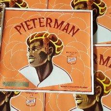 Etiquetas antiguas: 5 ETIQUETAS -PIETERMAN-JOSE PARRA SANZ-VILLARREAL. Lote 210223771
