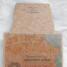 Etiquetas antiguas: MY LITTLE BUCKAROO, GUNGA DIN, JEANS (VAQUEROS) GRUPO SÁEZ MERINO VALENCIA. Lote 211750835