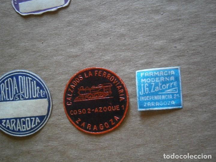 Etiquetas antiguas: ¡LOTE,DE,30¡¡ ,ETIQUETAS,TODAS,DE,ZARAGOZA,AÑOS,30,40,UNICAS EN TC - Foto 30 - 221515827