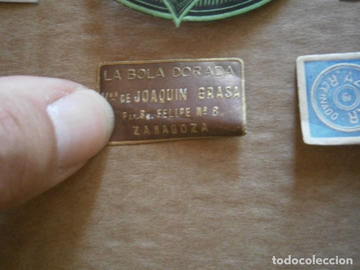 Etiquetas antiguas: ¡LOTE,DE,30¡¡ ,ETIQUETAS,TODAS,DE,ZARAGOZA,AÑOS,30,40,UNICAS EN TC - Foto 6 - 221515827