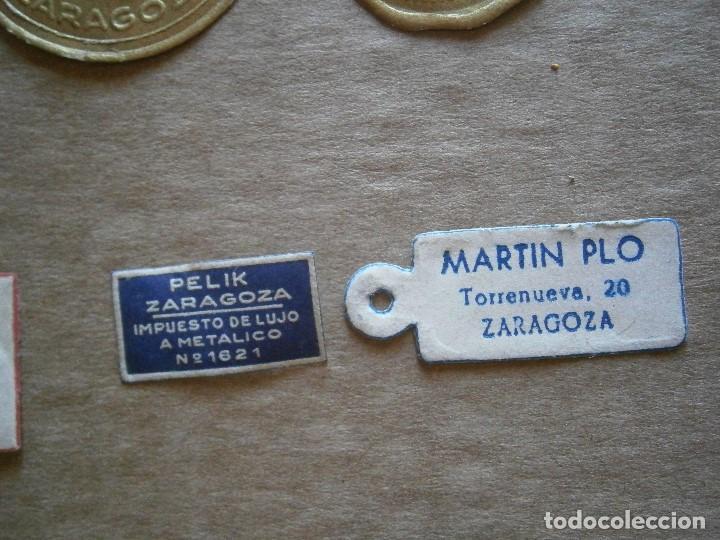 Etiquetas antiguas: ¡LOTE,DE,30¡¡ ,ETIQUETAS,TODAS,DE,ZARAGOZA,AÑOS,30,40,UNICAS EN TC - Foto 10 - 221515827