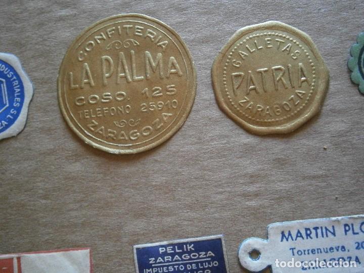 Etiquetas antiguas: ¡LOTE,DE,30¡¡ ,ETIQUETAS,TODAS,DE,ZARAGOZA,AÑOS,30,40,UNICAS EN TC - Foto 17 - 221515827