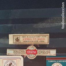 Etiquetas antiguas: JATIV 4 DE VICENTE BERNAVEU 1 COACXA. Lote 214377086