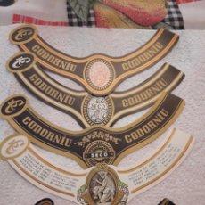 Etiquetas antiguas: LOTE DE ETIQUETAS CODORNIU TODAS DIFERENTES Y SIN PEGAR. DANI.. Lote 215407267
