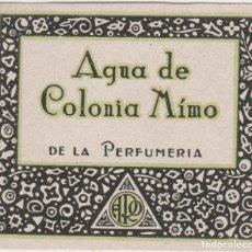 Etiquetas antiguas: LOTE C- ANTIGUA ETIQUETA DE COLONIA PERFUMERIA 5X4 CENTIMETROS. Lote 218719885