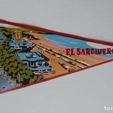 Etiquetas antiguas: BANDERÍN ANTIGUO / EL SARDINERO. Lote 219301465
