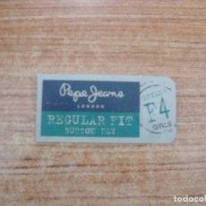 Etiquetas antiguas: ETIQUETA PEPE JEANS. Lote 221707331