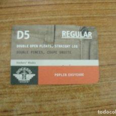 Etiquetas antiguas: ETIQUETA DOCKERS JEANS D5. Lote 221709771
