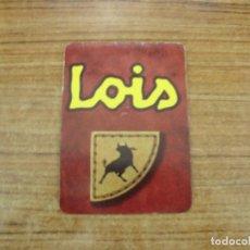 Etiquetas antiguas: ETIQUETA LOIS JEANS. Lote 221710226