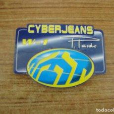 Etiquetas antiguas: ETIQUETA CYBER JEANS W-1. Lote 221711611