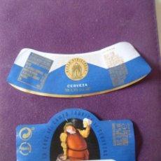 Etiquetas antiguas: ETIQUETA CRUZCAMPO 0,0. Lote 221824857