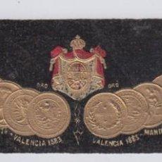 Etiquetas antiguas: ANTIGUA ETIQUETA VINO FINOS DE ESPAÑA Y PORTUGAL CASA FUNDADA EN 1874 (REVERSO Nº 6). Lote 225184075