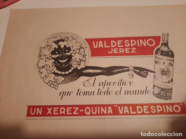 Etiquetas antiguas: Etiqueta publicidad.valdespino - Foto 3 - 234774365