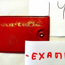 Etiquetas antiguas: AÑOS 50 - ETIQUETA PLÁSTICA CON LOGO DE MAESE CORTEFIEL. Lote 236611610