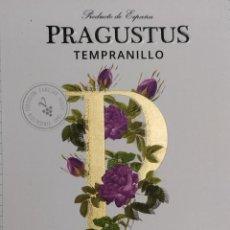 Etiquetas antigas: ETIQUETA DE VINO PRAGUSTUS TEMPRANILLO VINI GALICIA. Lote 266396568
