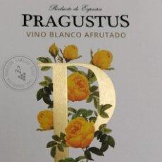 Etiquetas antigas: ETIQUETA DE VINO PRAGUSTUS BLANCO AFRUTADO VINI GALICIA. Lote 256061135