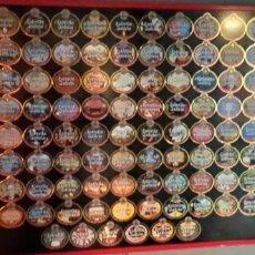 Etiquetas antiguas: COLECCIÓN ETIQUETAS ESTRELLA GALICIA 110 ANIVERSARIO, NUMERADA, ORDENADA, TERMINADA Y ENCUADRADA,. Lote 237210820