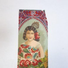 Etiquetas antiguas: ETIQUETA, CAMISA, CAJA DE PASAS MÁLAGA.. Lote 242270110