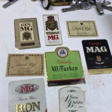 Etiquetas antiguas: ÉTIQUETAS. Lote 245009705