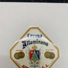 Etiquetas antiguas: ETIQUETA CREMA ALTAMIRANO RUTE. Lote 245558930