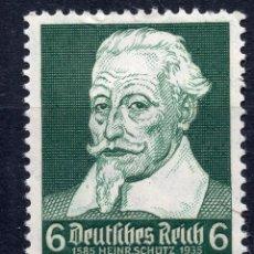 Étiquettes anciennes: ALEMANIA IMPERIO 1935 , MICHEL 573 MNH. Lote 246824120