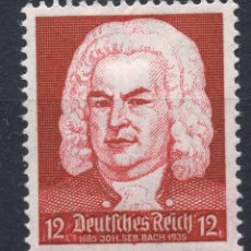 Étiquettes anciennes: ALEMANIA IMPERIO 1935 , MICHEL 574 MNH. Lote 246824295