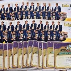 Etiquetas antiguas: LOTE 39 ETIQUETAS DE EXPORTACIÓN VAQUEROS LOIS - DOS MODELOS - SAEZ MERINO S.A. VALENCIA. Lote 249354570