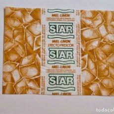 Etiquetas antiguas: ENVOLTORIO DE CARAMELOS STAR - 80 X 63.MM. Lote 252526915