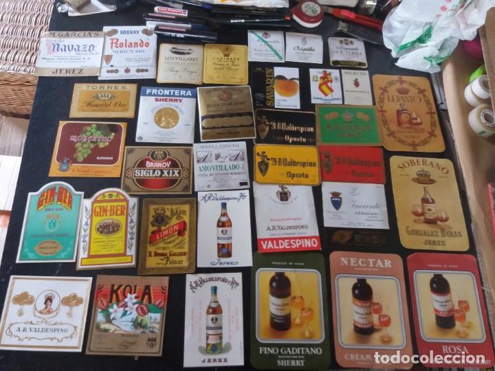 Etiquetas antiguas: GRAN COLECCIÓN DE ETIQUETAS DE VINO Y LICORES ETC - Foto 3 - 253651645