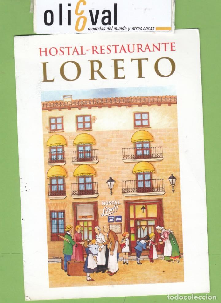 ETIQUETA HOTEL HOTEL LORETO DENIA ALICANTE -TPH2825 - (Coleccionismo - Etiquetas)