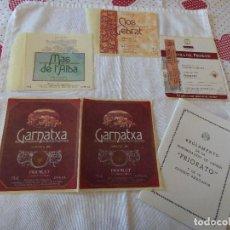 Etiquetas antiguas: PRIORATO.. Lote 261957580