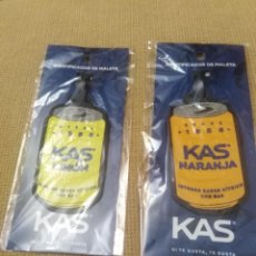 Etiquetas antiguas: IDENTIFICADORES DE MALETA KAS. Lote 263210495