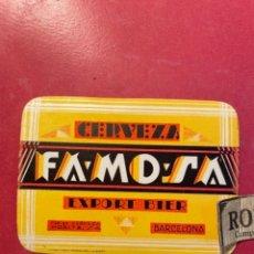 Etiquetas antiguas: CERVEZAS -ANTIGUA ETIQUETA MORITZ -CERVEZA FAMOSA EXPORT BIER BARCELONA 9,3X7 CM .. Lote 268736859