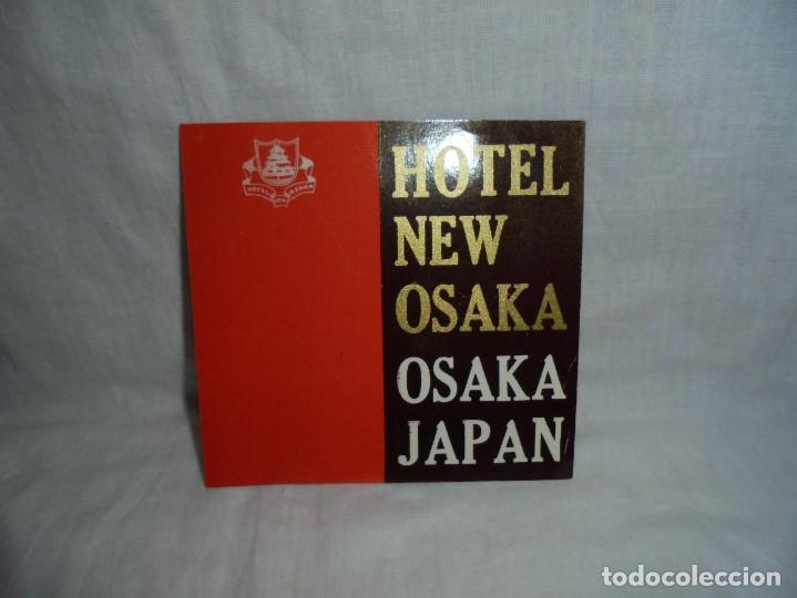 ETIQUETA HOTEL NEW OSAKA JAPAN (Coleccionismo - Etiquetas)