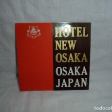 Etiquetas antiguas: ETIQUETA HOTEL NEW OSAKA JAPAN. Lote 269003239