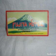 Etiquetas antiguas: ETIQUETA HOTEL FUJIYA MIYANOSHITA HAKONE JAPAN. Lote 269003499