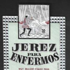 Étiquettes anciennes: ETIQUETA JEREZ, JOSÉ GARCIA DELGADO, ANTIGUA.. Lote 277474128