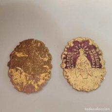 Etiquetas antiguas: 2 ETIQUETAS DE OÑATE - OÑATI. CHOCOLATES MAIZTEGUI. GUIPUZCOA. VIRGEN ARANZAZU. DIFERENTES.. Lote 287316243