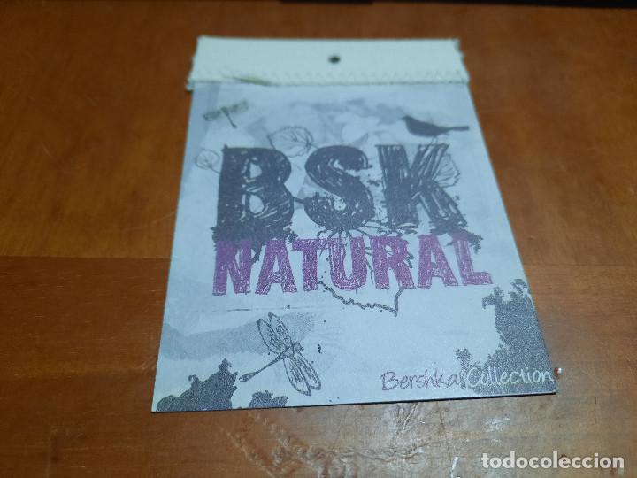BSK NATURAL. BERSHKA. ETIQUETA. BUEN ESTADO. DIFICIL DE CONSEGUIR (Coleccionismo - Etiquetas)