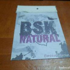 Etiquetas antiguas: BSK NATURAL. BERSHKA. ETIQUETA. BUEN ESTADO. DIFICIL DE CONSEGUIR. Lote 288411828