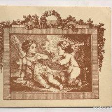 Etiquetas antiguas: BARCELONA, ETIQUETA LOCIÓN Y ESTRACTO PRELUDIO, CASA JUPER (H.1950?). Lote 289771058