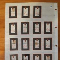 Etiquetas antiguas: ETIQUETAS ANTIGUAS - QUINA - RELY (15). Lote 295455598