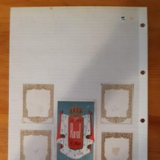Etiquetas antiguas: ETIQUETAS ANTIGUAS - COLONIA - ROYAL (1). Lote 295456508