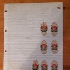 Etiquetas antiguas: ETIQUETAS ANTIGUAS - LOCION - FRICOT (7). Lote 295457893