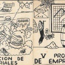 Etiquetas antiguas: ETIQUETA ADHESIVA DE V PROMOCIÓN DE EMPRESARIALES. Lote 295479398